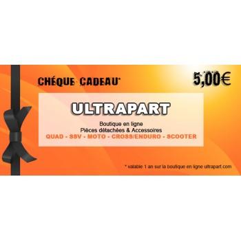 Chèque Cadeau 5€ Ultrapart