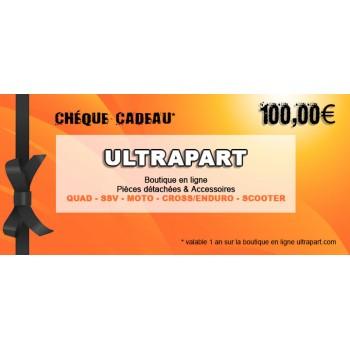 Chèque Cadeau 100€ Ultrapart