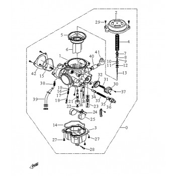 Kit Pointeau Carburateur