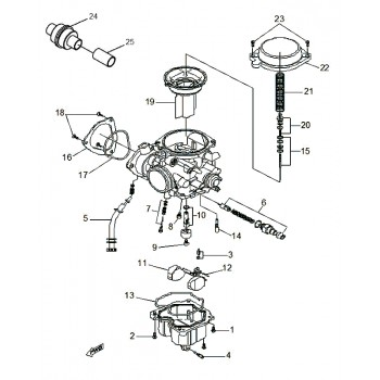 Carburateur Complet Mikuni