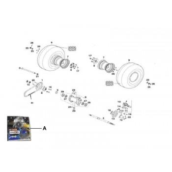 ETRIER FREIN ARRIERE - Kymco - 150 MXER