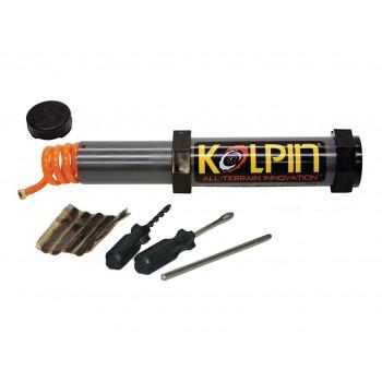 Kit Réparation Pneu + Pompe Kolpin