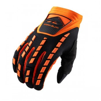 Gants titanium Kenny Black Orange