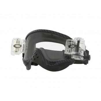 Masque OAKLEY O Frame MX True Carbon Race Ready Roll-Off écran transparent