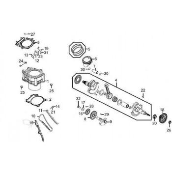 Joint Tendeur Chaine 450 Maxxer