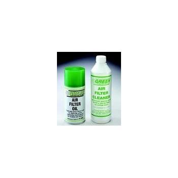 Kit entretien Filtre à Air - nettoyant 500ml + spray d'huile 300ml - Grenn Filter