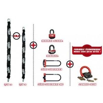 Lot : Chaine 1m30 Non Homologuée + Minimax Alarm - Vector
