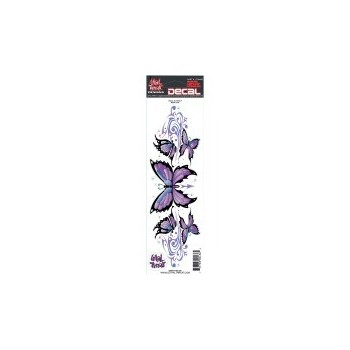 Sticker Purple Butterfly Set