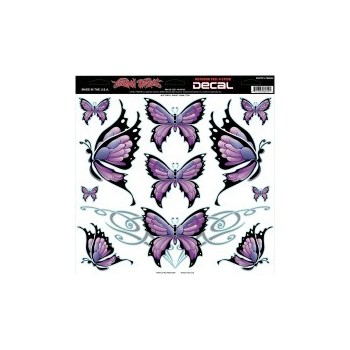 Sticker Butterfly Sheet
