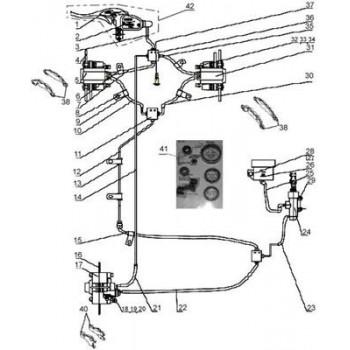 FLEXIBLE PEDALE DE FREIN - Hytrack - Hytrack HY310