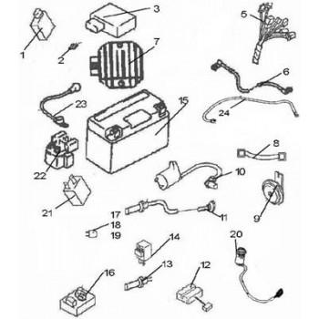 SONDE TEMPERATURE MOTEUR - Hytrack - Hytrack HY310