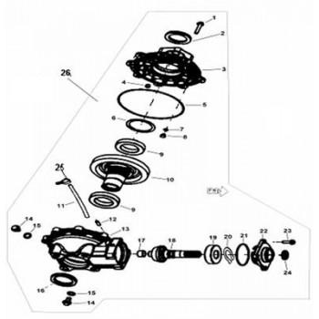 ARBRE PIGNON - Hytrack - Hytrack HY310