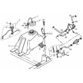 RESERVOIR CARBURANT - Hytrack - Hytrack HY310