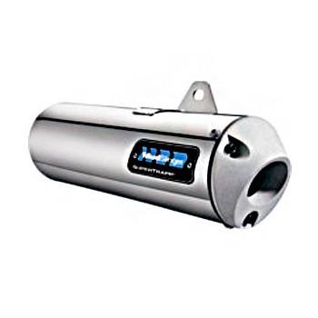 Silencieux Acier Inox - Supertrapp - Yamaha 450 Grizzly - 450 Kodiack