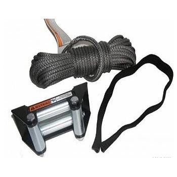 Cable de remplacement Synthétique + Cage à Rouleaux pour Treuils RT25 - RT30 - Warn