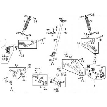 Rotule de Bras de Suspension
