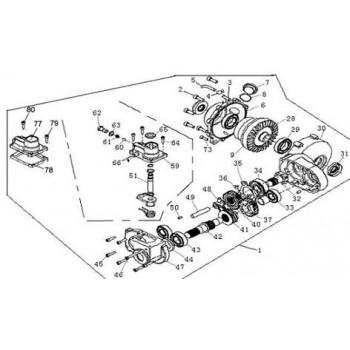 ENSEMBLE PONT AVANT 4X4 ELECTR - Hytrack - HY550 4x4