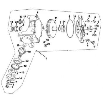 ENSEMBLE PONT ARRIERE - Hytrack - HY550 4x4