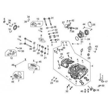 CULASSE - Kymco 450 Maxxer