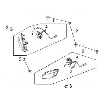 Optique Phare Avant Droit 450 Maxxer