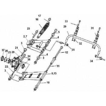 TRIANGLE ARR GAUCHE SUPERIEUR - Hytrack - HY700 EFI