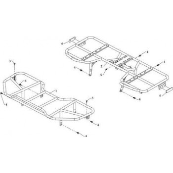 Porte Bagage Avant Hytrack HY590 4x4