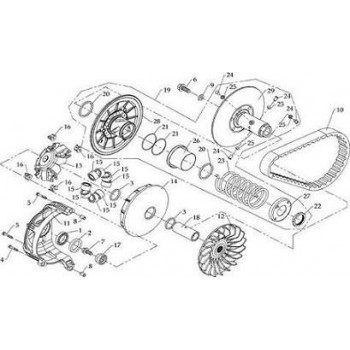 Poulie Mobile Hytrack HY590 4x4