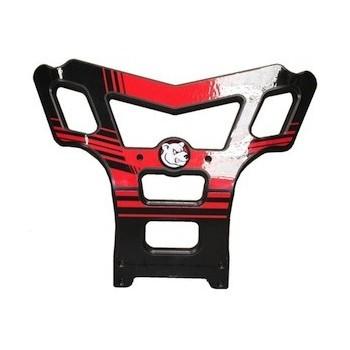 Bumper Baxper rouge - AXP - Honda 450 TRX