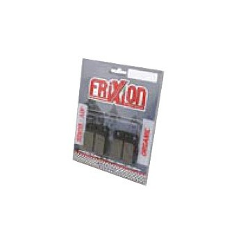 Plaquette de freins AVANT - Frixion - Kawasaki 400 KFX